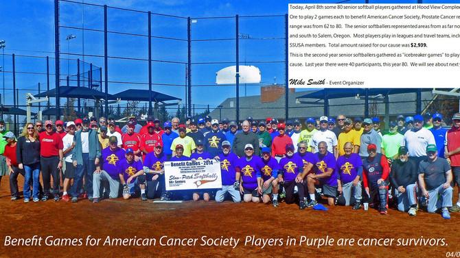 Cancer Benefit Happy Valley Oregon 2014