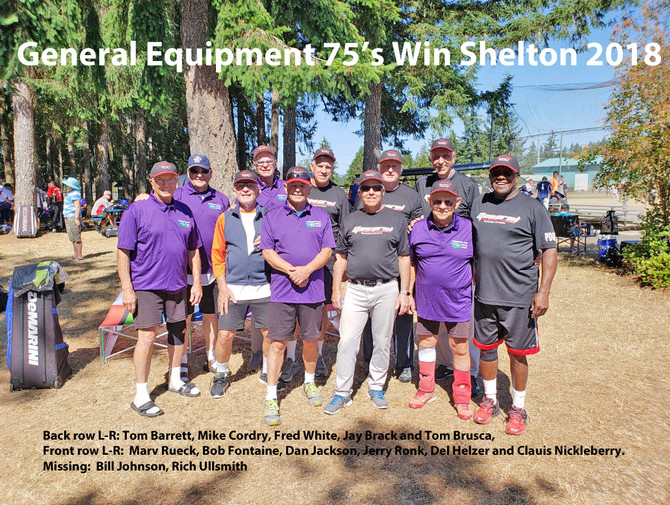 General Equipment of Oregon Win 75's Division in Shelton 2018