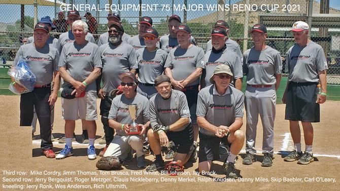 General Equipment Wins Reno Major 75 in 2021