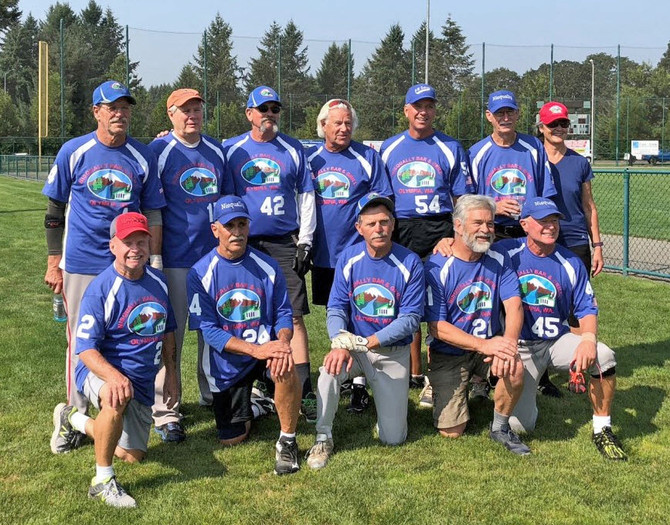 Nisqually Pounders 65 AAA Winners of their Division @ RAC Classic Rock II 2018