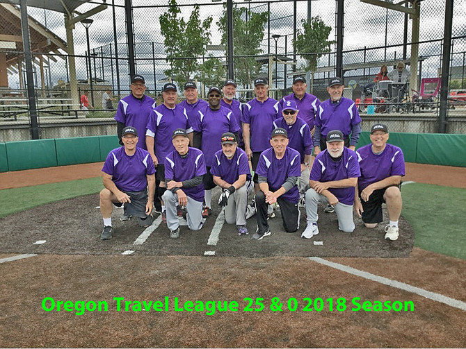 """Tom Dalrymple says """"we just finished the Oregon Travel League @ 25 wins & 0 losses""""."""