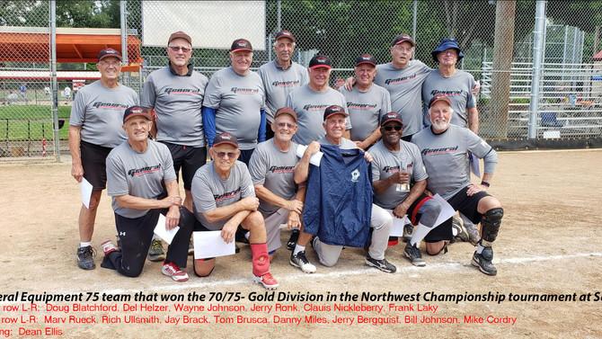 General Equipment Champions of 75's Major in Salem 2019