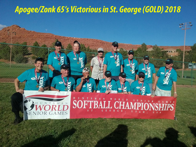 Apogee/Zonk Win GOLD @ Hunstman 2018