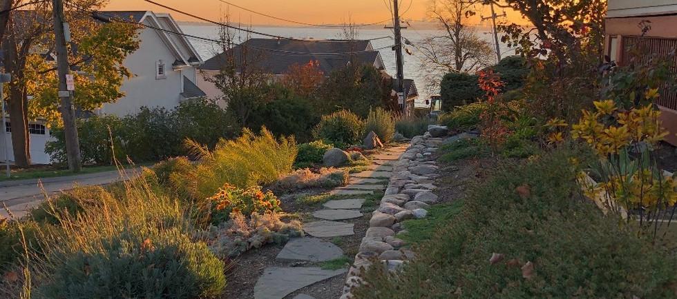 Nahant garden path