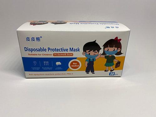 Kids Disposable Face Masks (50 count)