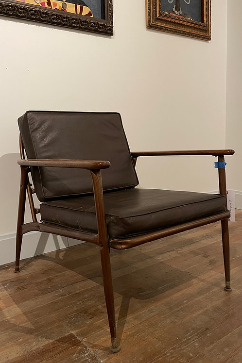 1950s Vintage Viko Baumritter Lounge Chair