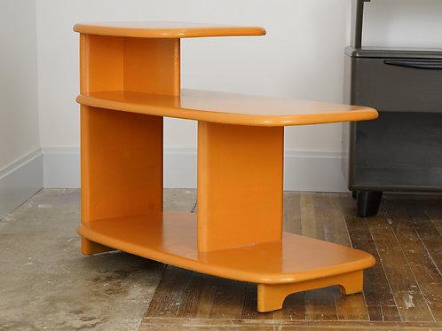 Orange Heywood-Wakefield End Table