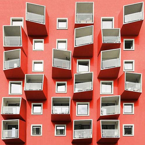 Paul Eis - Playful balconies