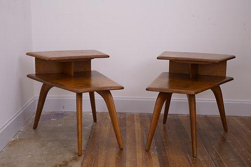 Pair of Heywood Wakefield side tables