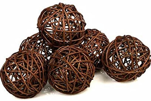 Brown Twig Balls