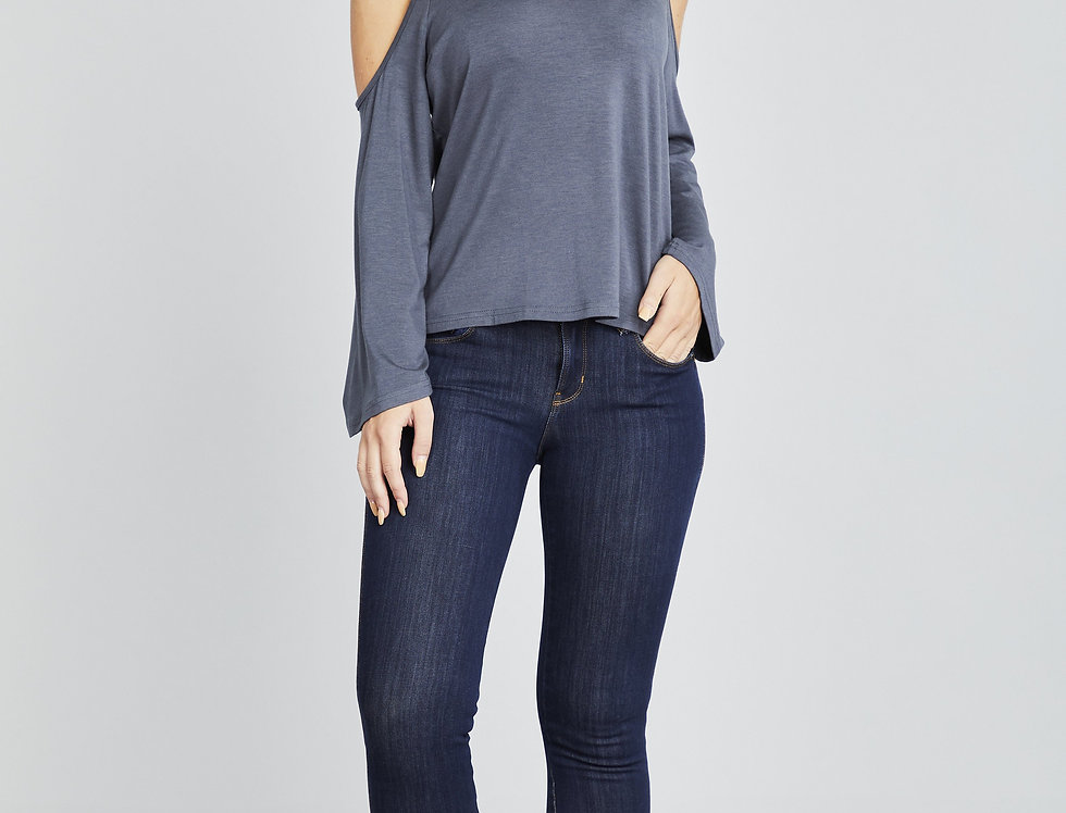 Comfort Soybean Long Sleeve Top