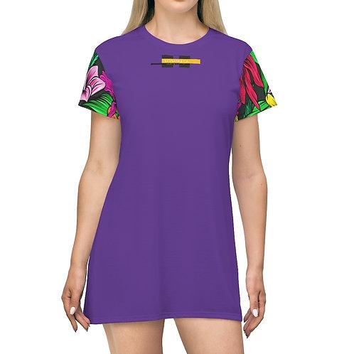 Robe t-shirt Violet (FLAM)