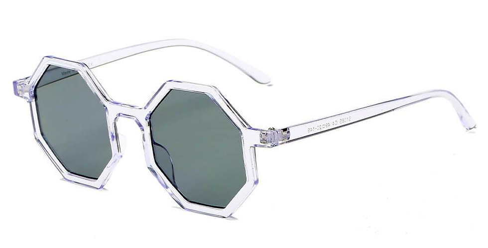 FLORENCE | S1085 - Women Fashion Geometric Round Sunglasses
