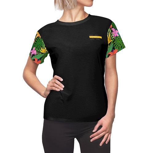T-shirt AOP Cut & Sew pour femme (Fleeve)