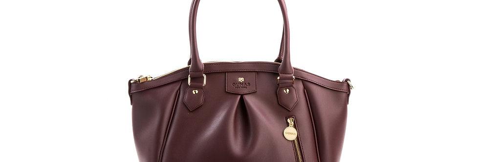 Madison - Burgundy Vegan Bag
