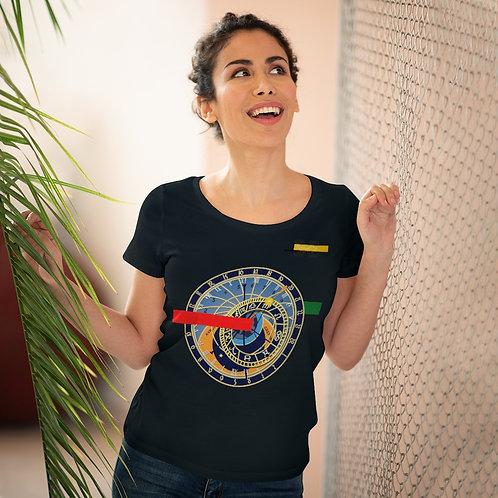 T-shirt amant bio pour femme Noir (SECRETIME)
