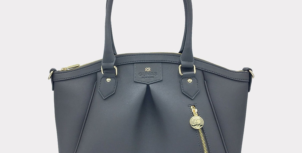 Madison - Charcoal Grey Vegan Bag