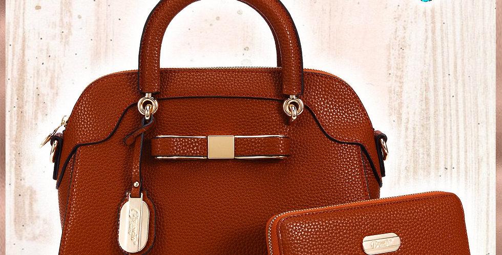 Desert Bow Matching Handbag + Matching Wallet Set