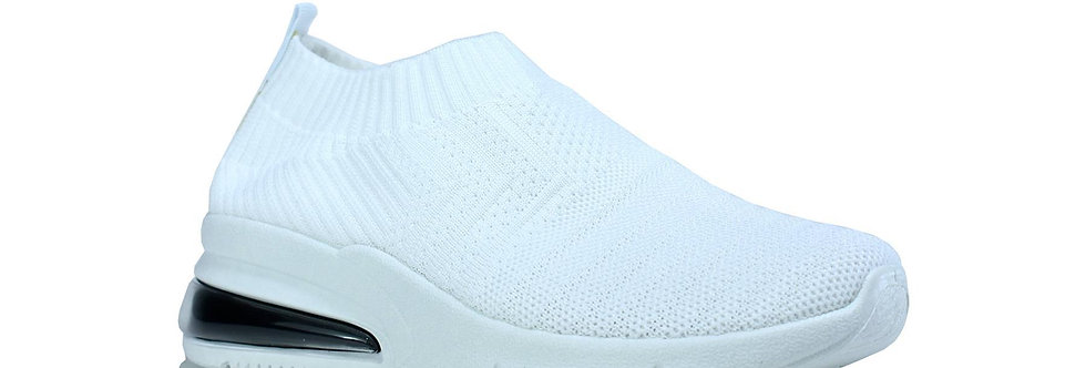 Knitted Wedge Trainers