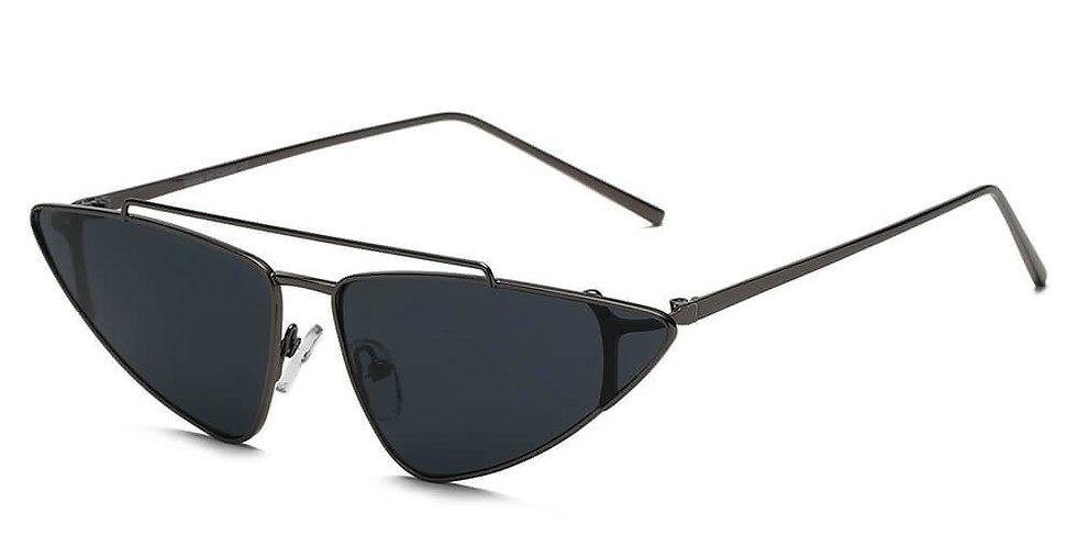 COHASSET | S3007 - Women Small Retro Vintage Cat Eye Sunglasses