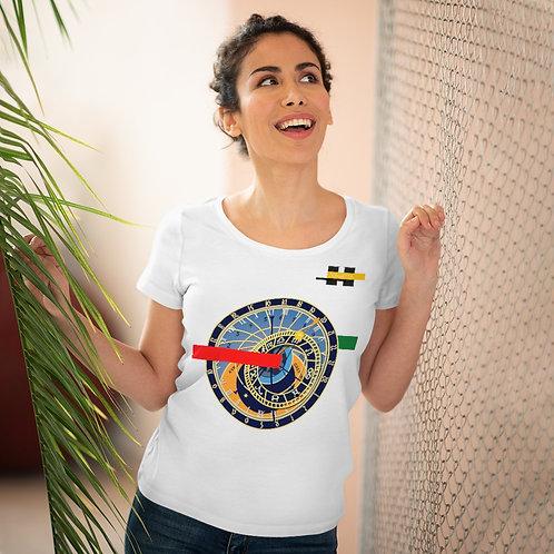 T-shirt amant bio pour femme Blanc (SECRETIME)