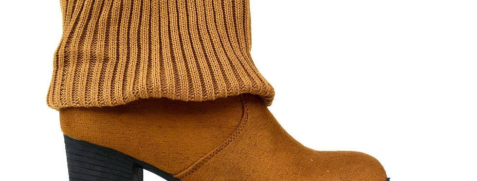 Women's Wool Ankle Boot Camel