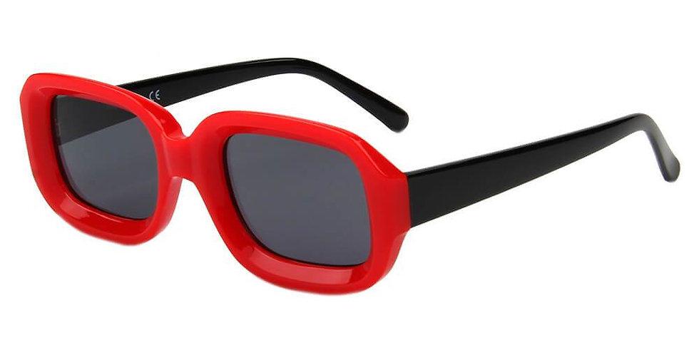 ERII | S1050 - Women Retro Vintage Square Sunglasses