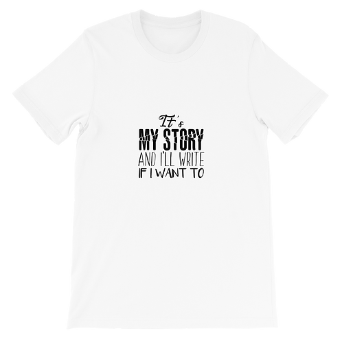 It's My Story Adult Short-Sleeve Unisex T-Shirt