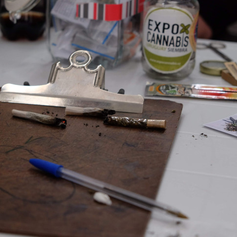 Evaluation Board at the Annual Cannabis Cup, Uruguay