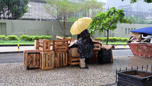 Regen in Rio