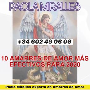 10 AMARRES DE AMOR PARA 2020