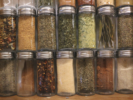 My Lovely Spice Drawer