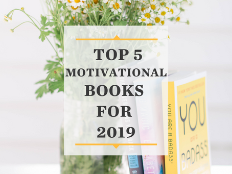 5 Favorite Inspiring Books of 2019