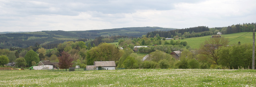 Panorama sur Mousny