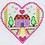 Thumbnail: Counted Cross Stitch Mini Kit - Heart