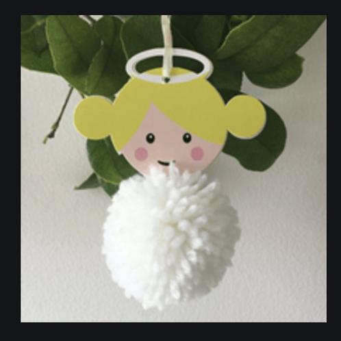 Trimits Pom Pom Kit -Angel