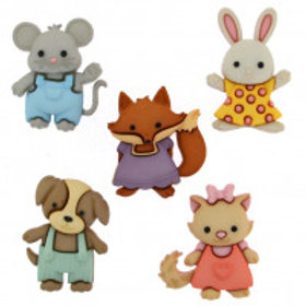 Forever Friends Novelty Buttons by Dress it up