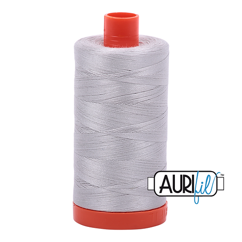 Aurifil 50/2 Light Grey Thread, 2615