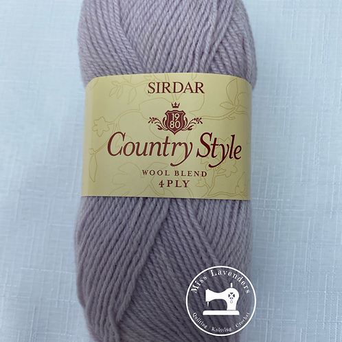 Sirdar Country Style 4ply 50g - Lavender 637