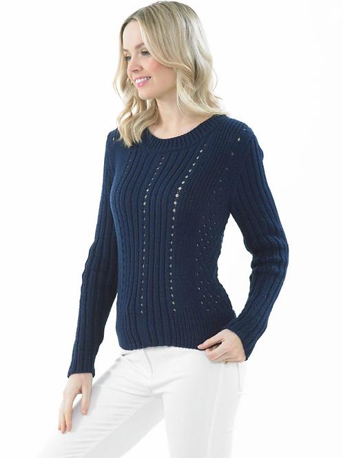 James C Brett Adult Sweater DK - Knitting Pattern - JB673