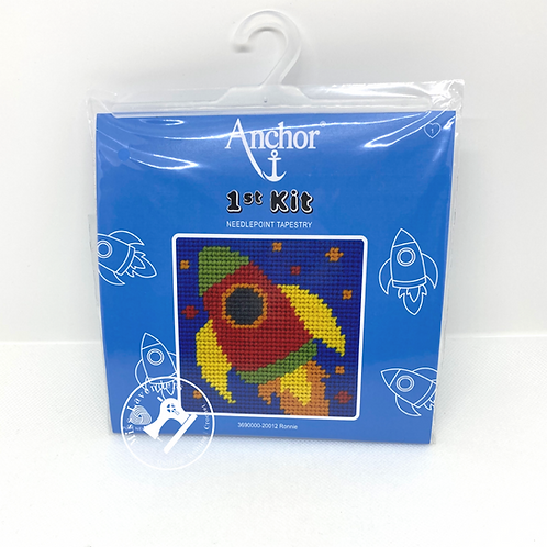Needlepoint Tapestry Stitch Kit - Ronnie Rocket