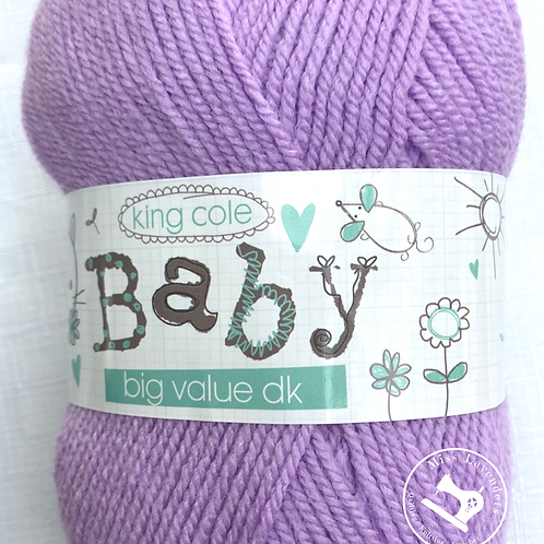 King Cole Big Value Baby Double Knit DK 100g - Crocus 3204