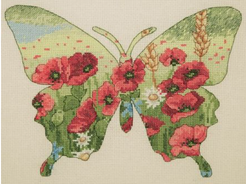 Cross Stitch Kit - Anchor Maia Butterfly