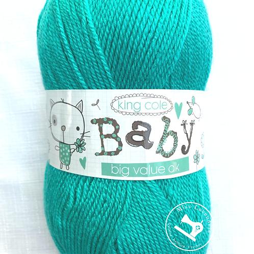 King Cole Big Value Baby Double Knit DK 100g - Aqua 3201