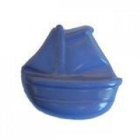 15mm LIGHT BLUE BOAT NYLON Button