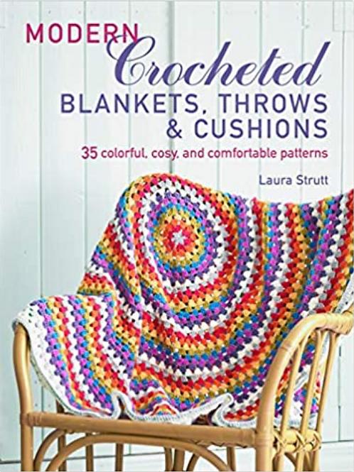 Modern Crocheted Blankets, Throws & Cushions
