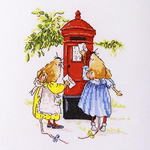 Cross Stitch Kit - Love Letters
