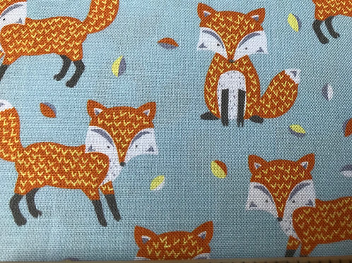 Woodland Friends - Foxes Fabric
