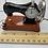 Thumbnail: Sewing Machine Miniature Clock