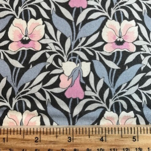 Liberty Hesketh House Harriets Pansy Fat Quarter